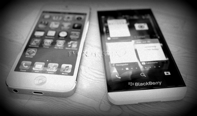 ¿Es Blackberry 10 un competidor para iPhone?