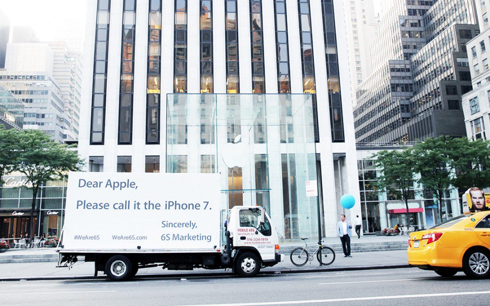 Agencia de Marketing pide a Apple cambio de nombre al iPhone 6s