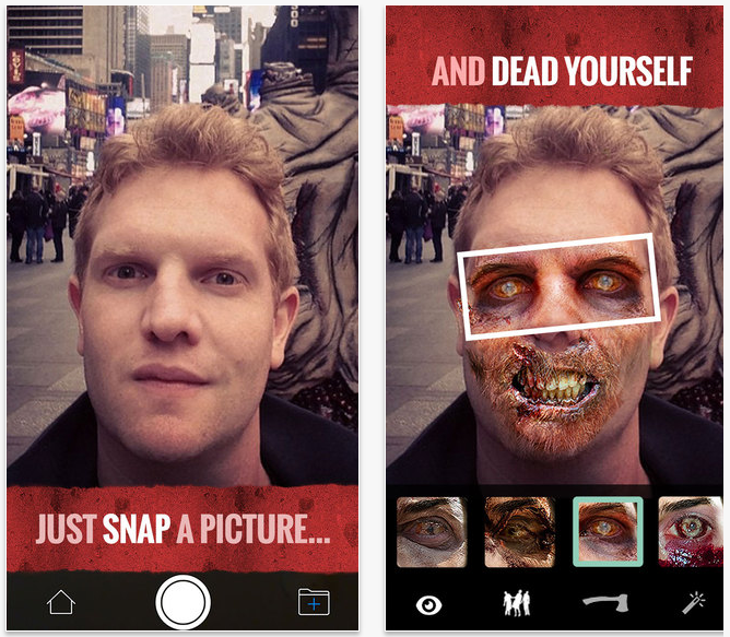 Apps para Halloween: The Walking Dead