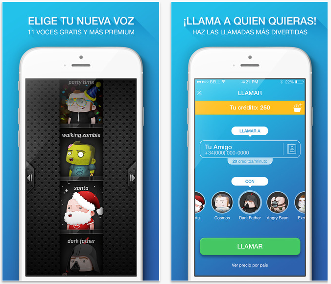 Apps para Halloween: Voicemod