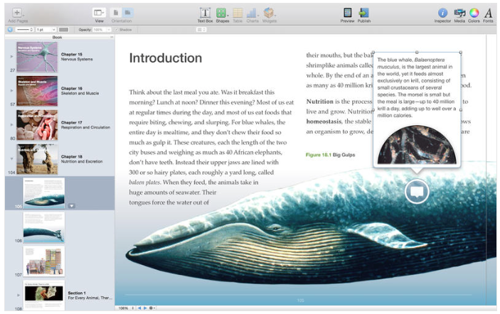 iBooks Author, una app gratuita para Mac