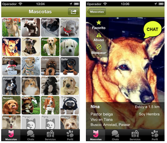 Doggy Talky, una app de mascotas para iPhone