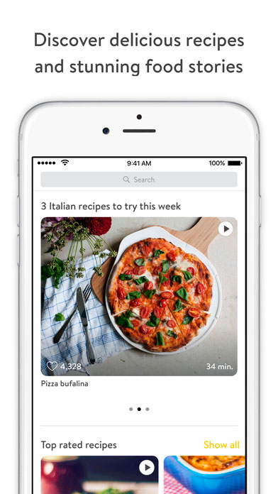 Kitchen Stories App de Cocina