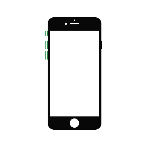 Reparar Volumen y Vibración Iphone 6s Plus