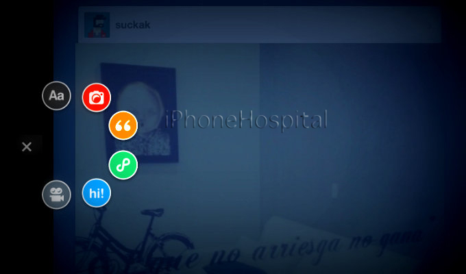 Tumblr disponible para iPad